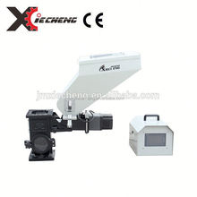 single/double color volumetric doser feeder for extruder machine