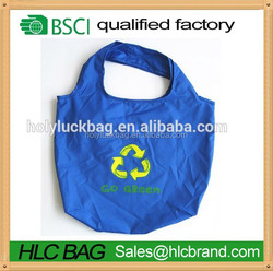 2015 hot sale eco-friendly RPET eco bag made from recycled plastic bottle