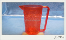 factory cheap free BPA red PP plastic hot water jugs