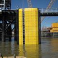 Uhmwpe marina pad, inflama retardando retardante de hoja de plástico UHMWPE / polietileno alta densidad lámina extruida