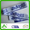 Personalizado tecido elástico bordado para roupas íntimas ou cós