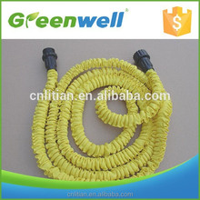 Perfect feedback from clients 2 layers pure latex xpandable magic hose with 8 pattern plastic spray gun for japan korea