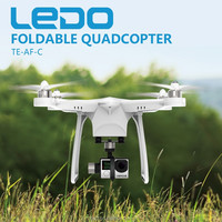 Ledo Foldable Quadcopter with Camera for High Strength Flying photo