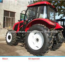 cuatro ruedas 95hp agricultura tractor
