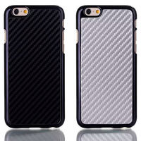NEW For iPhone 6 Carbon Fiber Lines Skin Case Cover