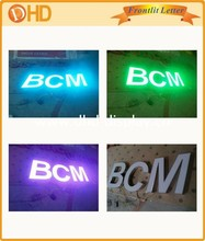 Advertising Letters, Signs, Logos, Metal with Acrylic Lighting LED Channel Letter Sign