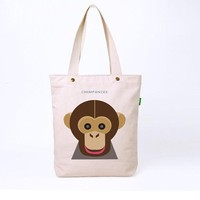High Quality Customized Long Strap Canvas Tote Bag Wholesale