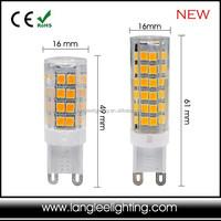New Style G9 Lamp Bulb 2835 LED High CRI High Brightness 4W 6W