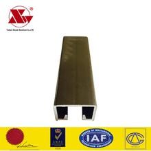 aluminium channel aluminum U shape profile for sliding window