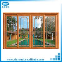 Aluminum Thermal Standard Sliding Glass Door Size