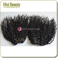 100% Virgin Asian Kinky Human Hair