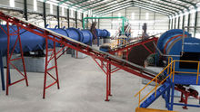 organic oil palm fiber fertilizer pellet mill
