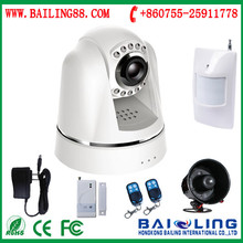 low price home alarm system based on 3g gsm network