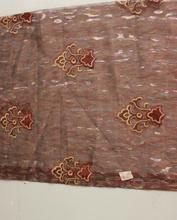 Novos produtos quentes para 2015 de boa qualidade flores de tecido para vestidos moda tecido jacquard