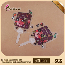 Printing promotion Beautiful colorful cheap custom mini plastic hand fan