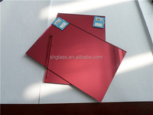 1830*2440*4mm Decoration Mirrors/Peach Red Mirror in Shahe Unique Factory with High quality and Lowest Price
