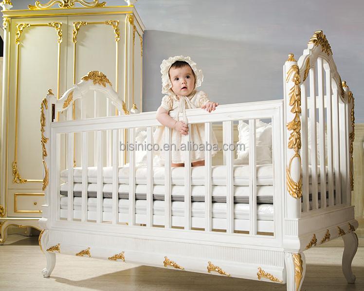 Baby Wieg Slaapkamer : baby wieg, europese stijl antieke luxe kinderen ...