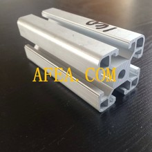 6005 6061 6063 Aluminum profile rail for windows and doors