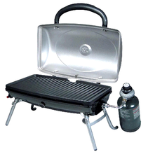 Portable Table Top BBQ Barbecue Propane LP Gas Grills & Griddles with Drip Tray for Camping Outdoor Kitchen Cooking Equipment