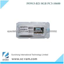 memoria del servidor del espolón 8gb (1x8gb) PC3-10600 DDR3-1333MHz 593913-b21