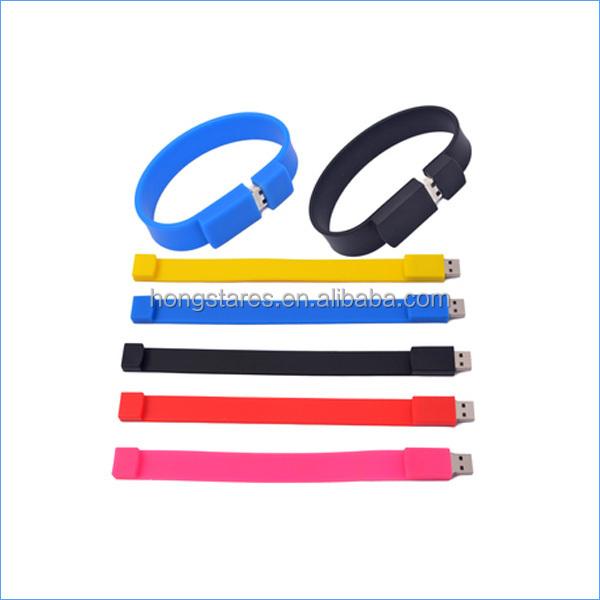 High quality bracelet bulk 1gb usb flash drives with best price