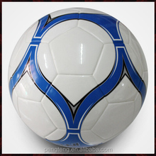 Customized laminated PU/TPU soccer ball official size weight