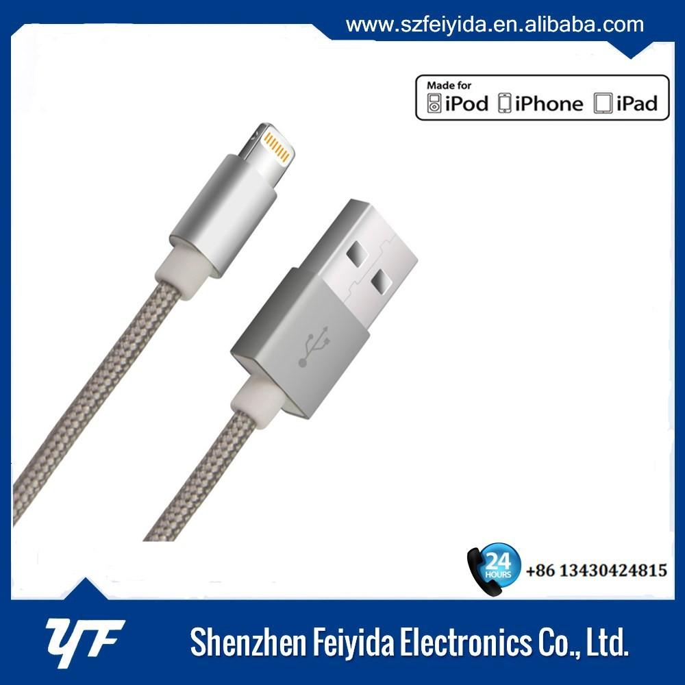 FYD MFi licença autorizada cable para apple