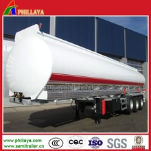 3 Axle 50000 Liters Fuel Tanker/ Oil Tank With Pump Semi Trailer(Volume 25-60M3 Optional)
