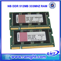 Used laptops in bulk 512mb ddr1 ram price with ETT chips