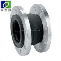 rubber expansion joint with limited block