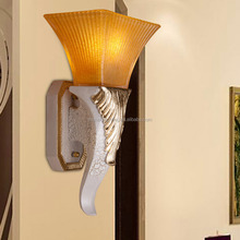best-selling european contracted style energy saving LED resin wall lamp