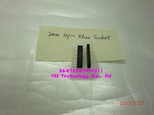 2mm 10pin XBee Socket - SMD Free Tracking Number