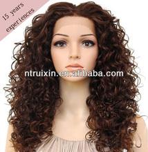 2014 New Fashionable Full Lace Virgin Brazilian Human Hair Wig