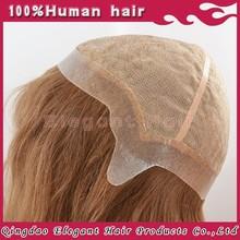 wholesale cheap preuvian virgin hair 130%density thin skin perimeter silk top full lace wig