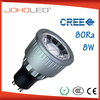 Led projectors china made 8w gu10 111mm 500lm disposable led lights