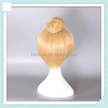 New Bell Blonde Golden Womens Hair Cosplay Wigs