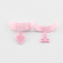 500Pcs Dashing Diva Short Pink French Wrap Nail Tips
