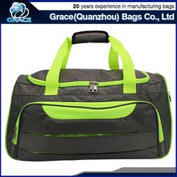 bright color OEM polyester jacquard clear waterproof pvc duffel bag