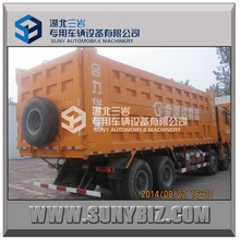China 8x4 tipper truck 40T SHACMAN dump truck loading capacity