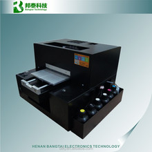 2015 newest A4 UV printer, cell phone case/plastic card/transparent business card printing machine, used uv flatbed printers