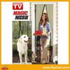 DIY magnetic screen door curtain as seen as on TV