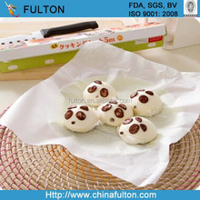 bleached baking paper silicone coated double sided baking paper news printed baking paper wilton