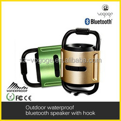 bluetooth speaker backpack with aluminum hook for outdoor and waterproof