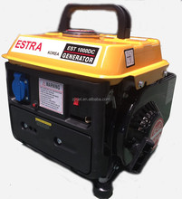 2014 new model 950w small portable gasoline generator CE SONCAP honda model made in china