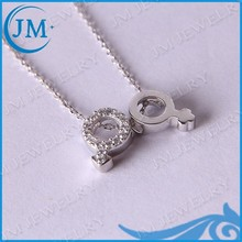 Modern Unsex Jewelry Special Lover Necklace Design