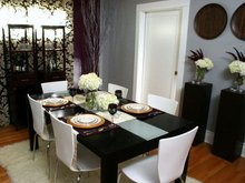 Modern dining Table and dinging Chair