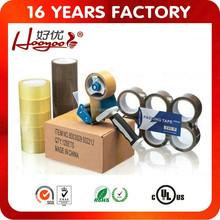 water based acrylic adhesive bopp carton sealing tape