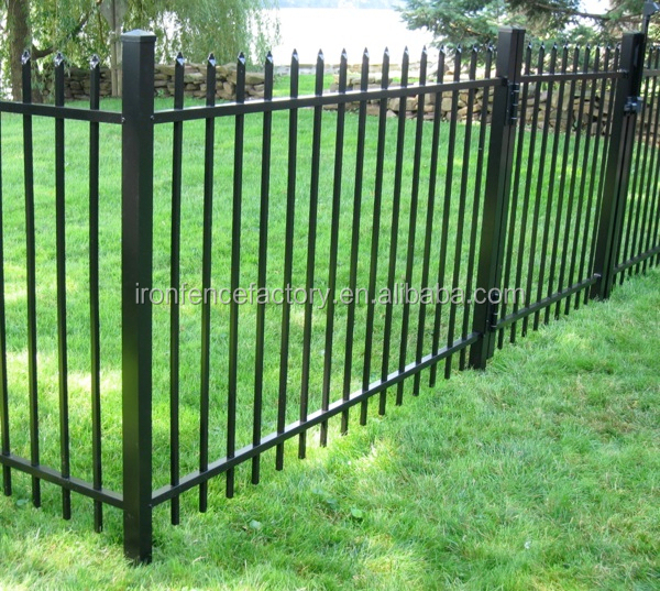 New product outdoor decorative wrought iron fence