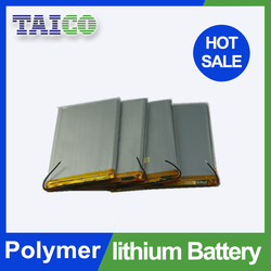 Super thin 3 7v 1700mah polymer lithium ion battery with Fast Delivery