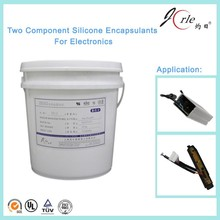 Popular white colour electronic components potting silicone sealant